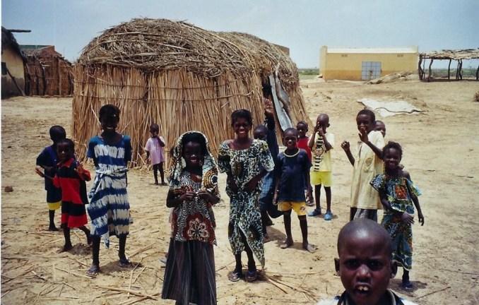 La broussarde, les mômes d'un village peul