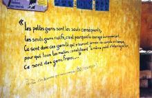 Citation de Mambety à N'Gor