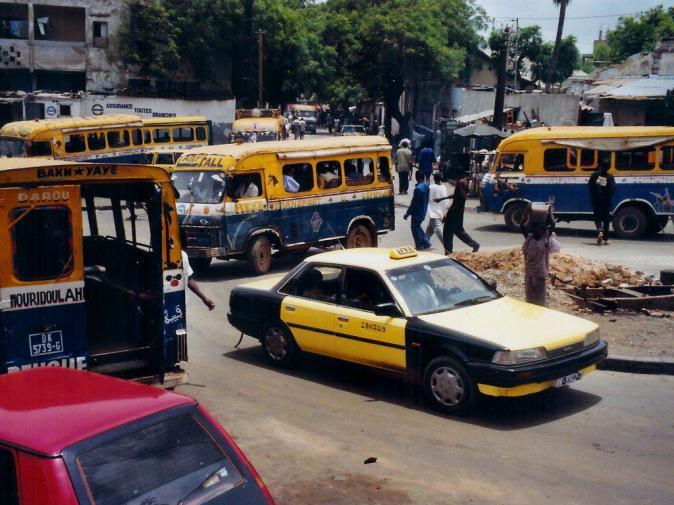 Retour à Dakar