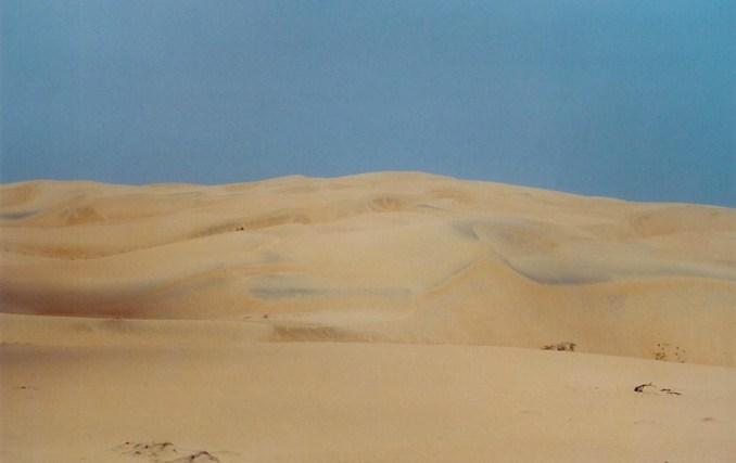 Les dunes du désert de Lompoul