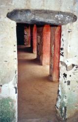 La maison des esclaves (sous-sol)