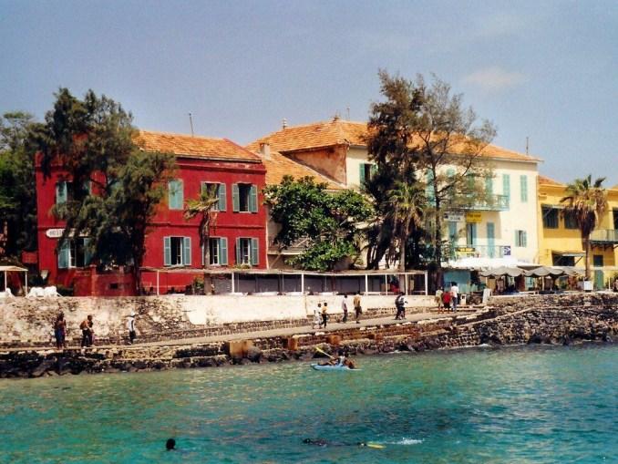 Les maisons en couleur de Gorée