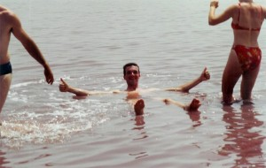 Baignade au lac Rose