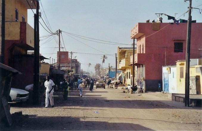 Saint Louis, quartier Guet N'Dar