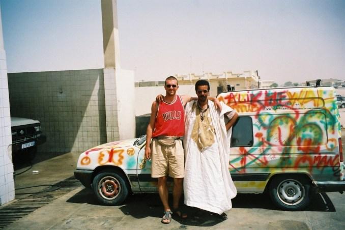 Avec Ahmed et Titine à Nouakchott