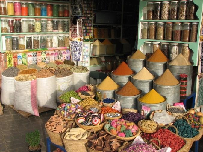 Les épices du souk... de Marrakech