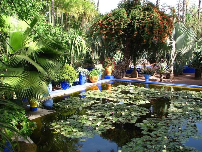 Marrakech, jardin Majorelle