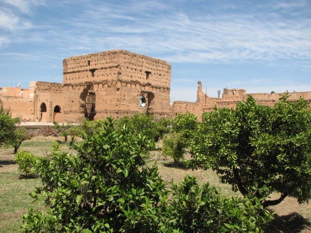 Marrakech, vestiges du palais El Badi