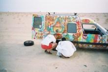Crevaison dans le désert...