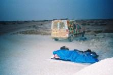 Philou à la sortie du désert