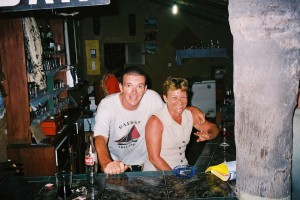 Cissou et Tata Odile au bar du Cormoran