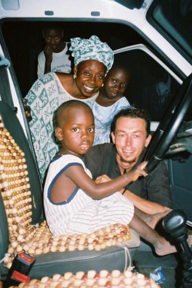 Avec Thom et Kiné à Pikine