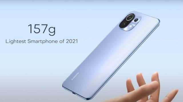 Mi 11 Lite Slim Phone 2021