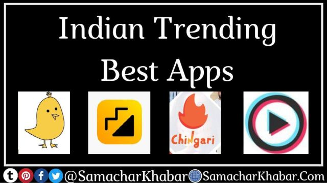 Top 5 Indian Apps