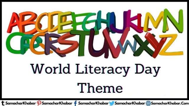 International Literacy Day (WorldLiteracy) theme