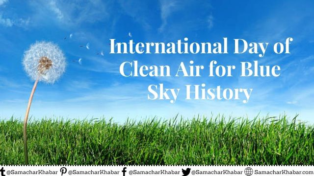 International Day of Clean Air forBlue Sky History