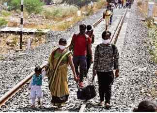 railway track death