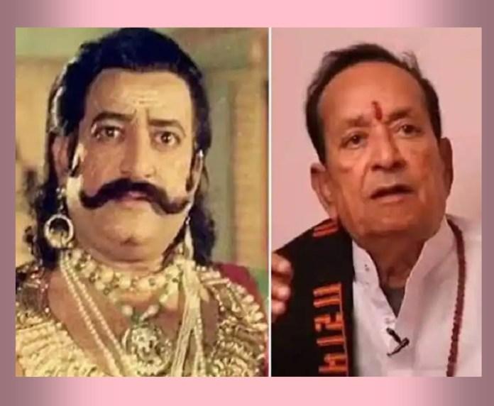 Ravana,RAMAYAN,tv actor,Arvind Trivedi,Arvind Trivedi passes away