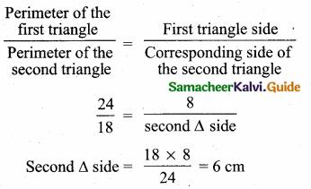 Samacheer Kalvi 10th Maths Guide Chapter 4 Geometry Additional Questions 10