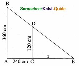 Samacheer Kalvi 10th Maths Guide Chapter 4 Geometry Additional Questions 23