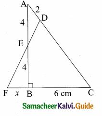 Samacheer Kalvi 10th Maths Guide Chapter 4 Geometry Ex 4.4 11