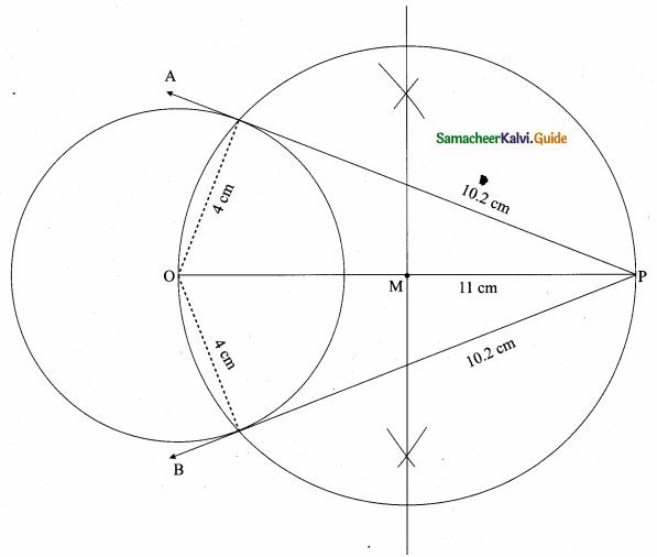 Samacheer Kalvi 10th Maths Guide Chapter 4 Geometry Ex 4.4 20