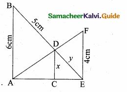 Samacheer Kalvi 10th Maths Guide Chapter 4 Geometry Unit Exercise 4 2