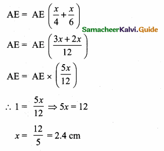 Samacheer Kalvi 10th Maths Guide Chapter 4 Geometry Unit Exercise 4 3