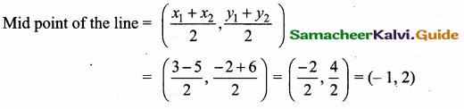 Samacheer Kalvi 10th Maths Guide Chapter 5 Coordinate Geometry Additional Questions 34