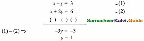 Samacheer Kalvi 10th Maths Guide Chapter 5 Coordinate Geometry Additional Questions 6
