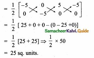 Samacheer Kalvi 10th Maths Guide Chapter 5 Coordinate Geometry Ex 5.5 1