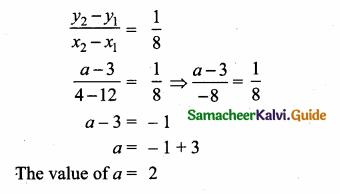 Samacheer Kalvi 10th Maths Guide Chapter 5 Coordinate Geometry Ex 5.5 5