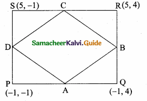 Samacheer Kalvi 10th Maths Guide Chapter 5 Coordinate Geometry Unit Exercise 5 1