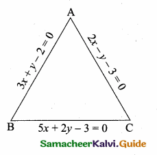 Samacheer Kalvi 10th Maths Guide Chapter 5 Coordinate Geometry Unit Exercise 5 6
