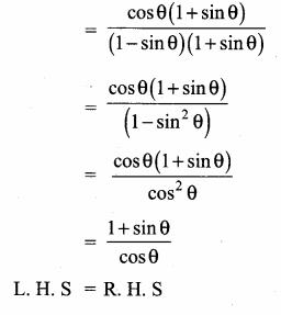 Samacheer Kalvi 10th Maths Guide Chapter 6 Trigonometry Ex 6.1 3