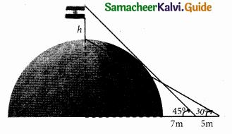 Samacheer Kalvi 10th Maths Guide Chapter 6 Trigonometry Ex 6.2 5