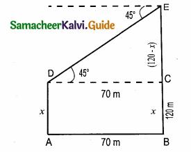 Samacheer Kalvi 10th Maths Guide Chapter 6 Trigonometry Ex 6.3 2