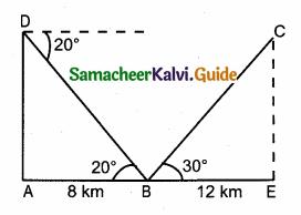Samacheer Kalvi 10th Maths Guide Chapter 6 Trigonometry Ex 6.4 7