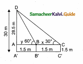 Samacheer Kalvi 10th Maths Guide Chapter 6 Trigonometry Additional Questions 59