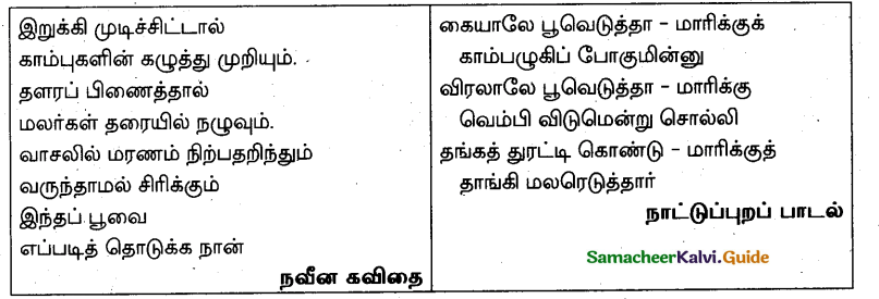 Samacheer Kalvi 10th Tamil Model Question Paper 5 - 1