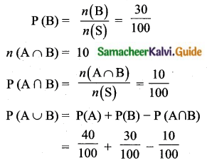 Samacheer Kalvi 10th Maths Guide Chapter 8 Statistics and Probability Additional Questions LAQ 13