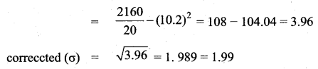 Samacheer Kalvi 10th Maths Guide Chapter 8 Statistics and Probability Additional Questions LAQ 4.2