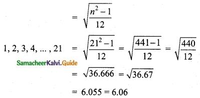 Samacheer Kalvi 10th Maths Guide Chapter 8 Statistics and Probability Ex 8.1 Q7