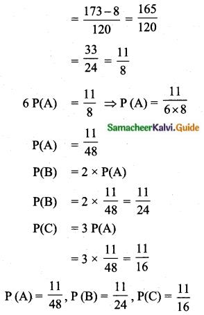 Samacheer Kalvi 10th Maths Guide Chapter 8 Statistics and Probability Ex 8.4 Q13.1