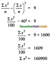 Samacheer Kalvi 10th Maths Guide Chapter 8 Statistics and Probability Ex 8.5 Q4