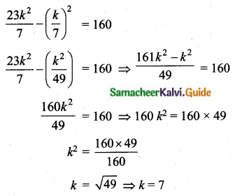 Samacheer Kalvi 10th Maths Guide Chapter 8 Statistics and Probability Unit Exercise 8 Q3.3