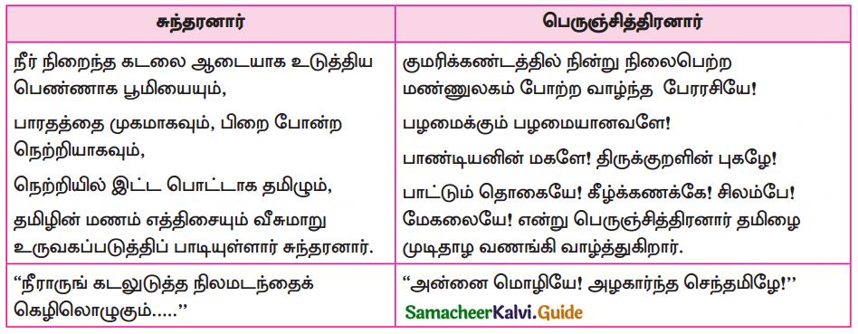 Samacheer Kalvi 10th Tamil Guide Chapter 1.1 அன்னை மொழியை - 3