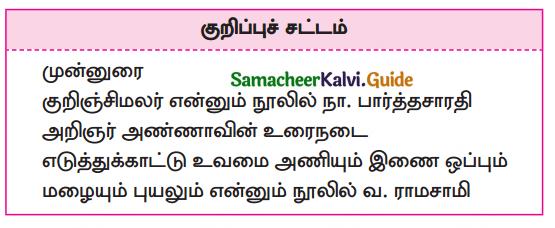 Samacheer Kalvi 10th Tamil Guide Chapter 1.4 உரைநடையின் அணிநலன்கள் - 1
