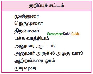 Samacheer Kalvi 10th Tamil Guide Chapter 6.5 பாய்ச்சல் - 1