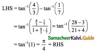 Samacheer Kalvi 11th Business Maths Guide Chapter 4 Trigonometry Ex 4.4 Q2.1